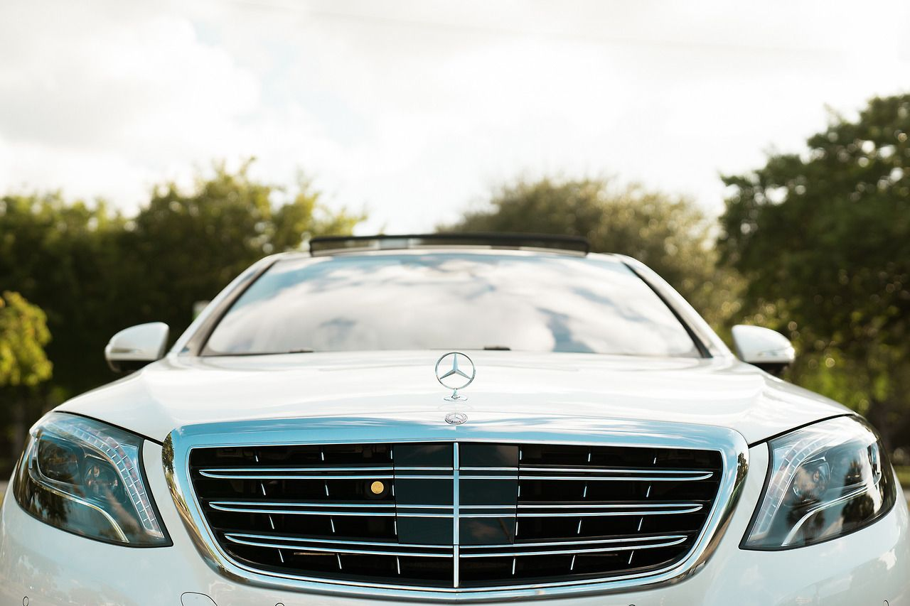 A dream in diamond white. MBPhotoPass for MBUSA