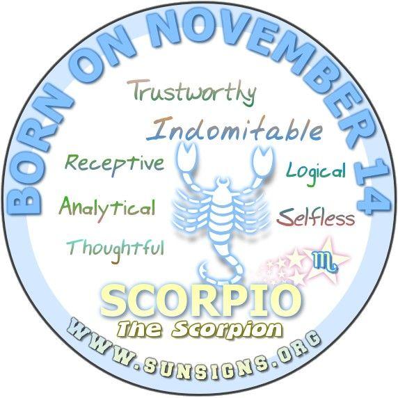 astrology for november 14