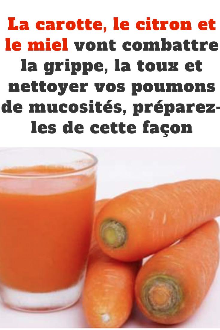 citron et grippe