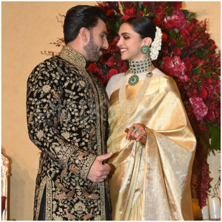 Exclusive Ranveer Singh And Deepika Padukone Have A Quiet Intimate First Diwali Bollywood Wedding Deepika Ranveer Deepika Padukone