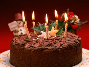 Christmas Chocolate Cake Recipe at MyDish... Course: Baking... Cuisine: English... Serves: 6... Cooking-Time: 0hrs 45 mins...