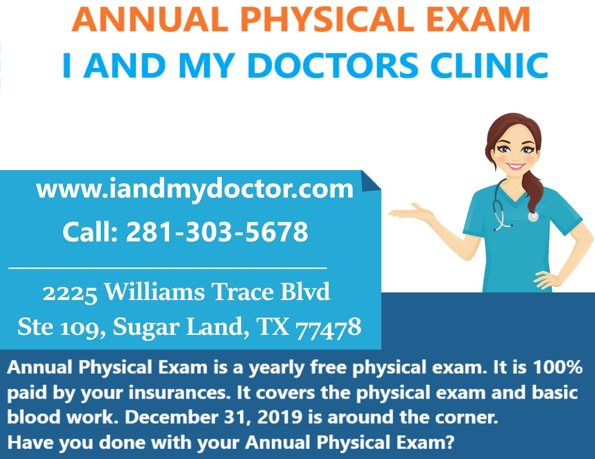 ANNUAL PHYSICAL EXAM in 2020 Annual physical exam