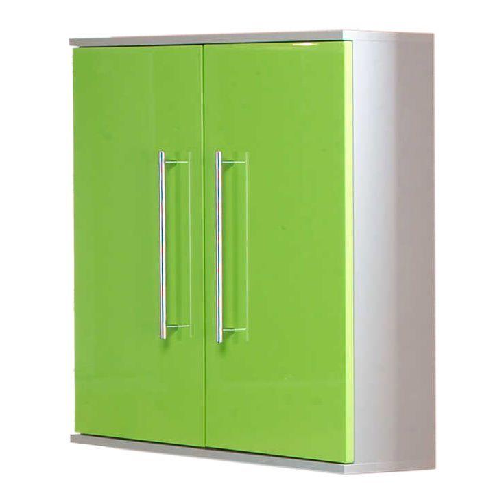 Hängeschrank Ponza- 2 Türen - Grün, Kesper Badmöbel Jetzt - hängeschrank wohnzimmer aufhängen