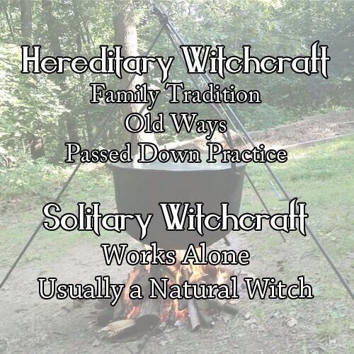 Hereditary witch