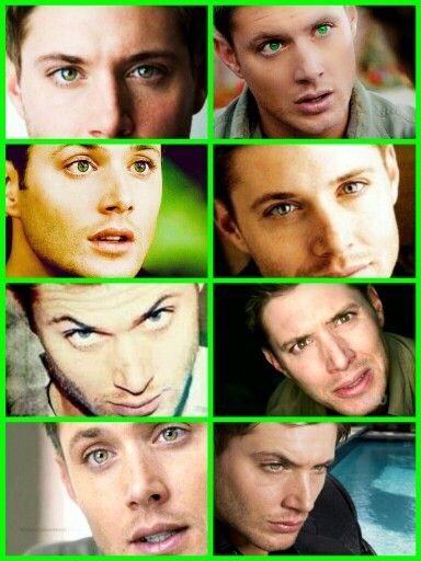 The eyes of Jensen Ackles