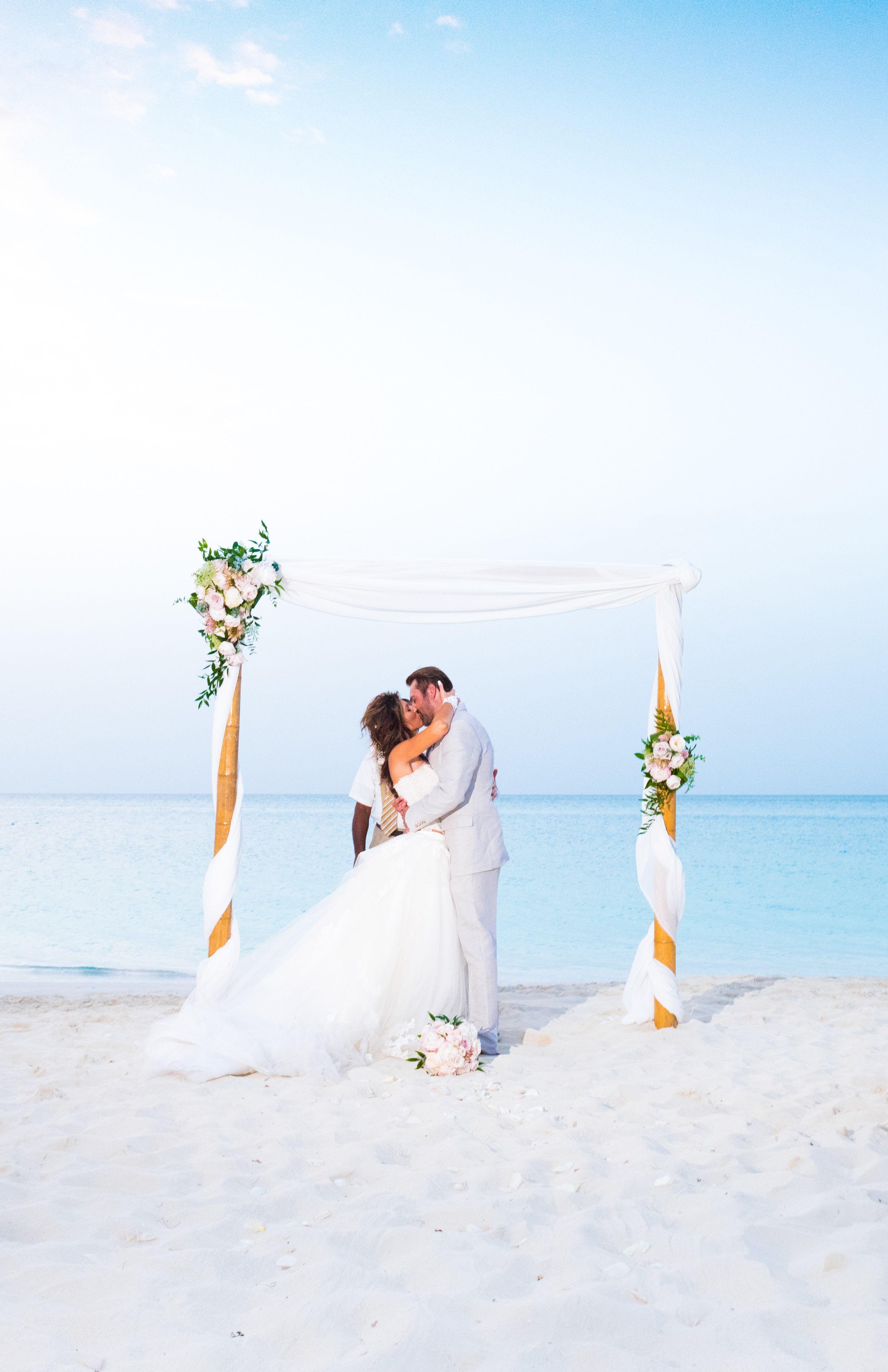 Shore Club Turks Caicos Weddings Turks And Caicos Wedding Tropical Beach Wedding Turks And Caicos