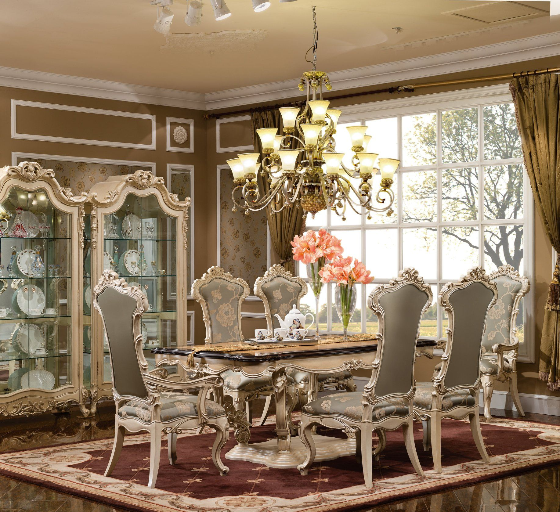 The Basillia Formal Dining Room Collection 14735