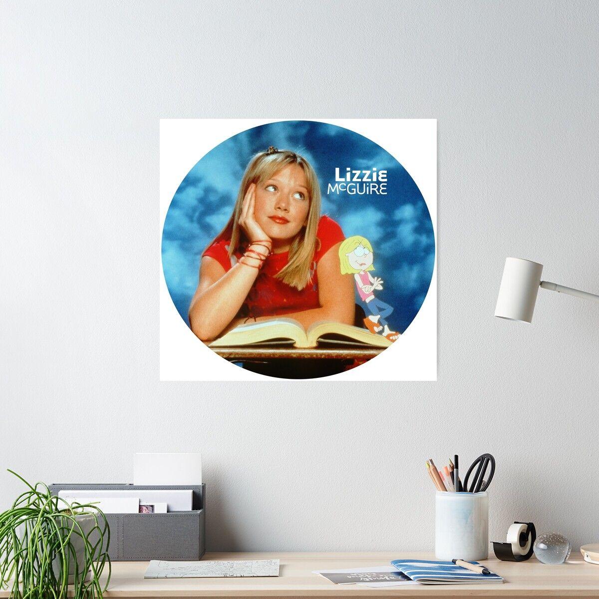 Lizzie McGuire circle Poster #lizziemcguire