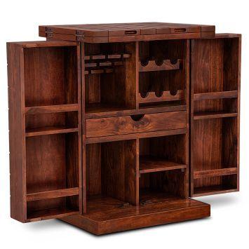 Bar Cabinets Cabinet Wooden Design Racks Online India