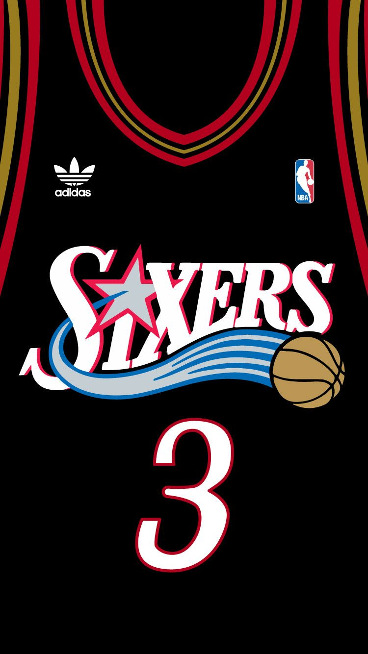 Allen Iverson Iphone 6 Nba Basketball Art Nba Basketball Nba