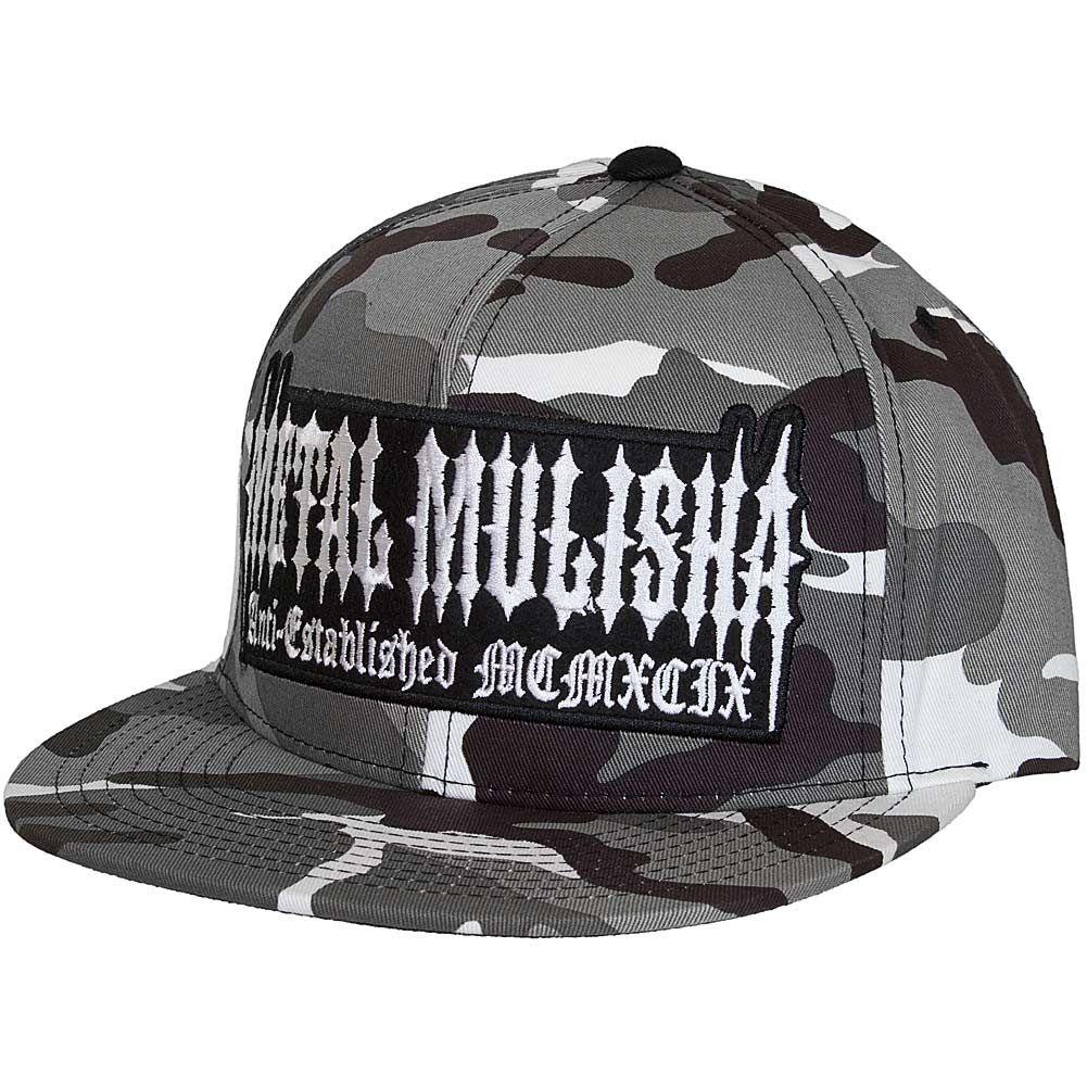 Metal Mulisha At Large Snapback Cap camo  a307afc3a7e