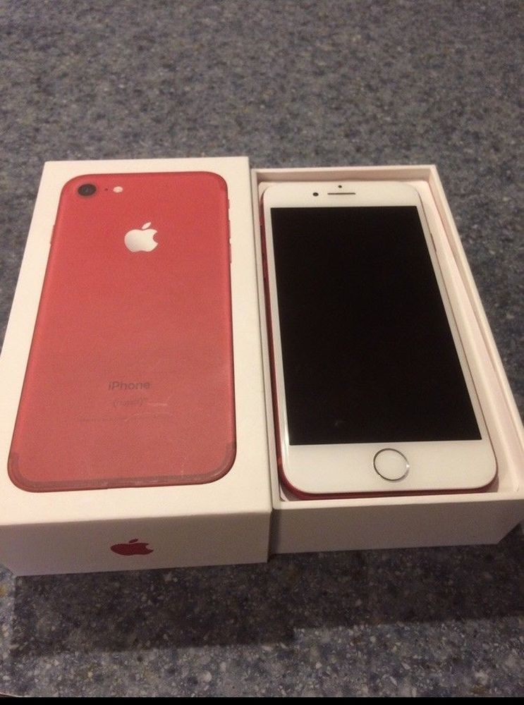 Apple iphone 7 productred 128gb verizon a1778