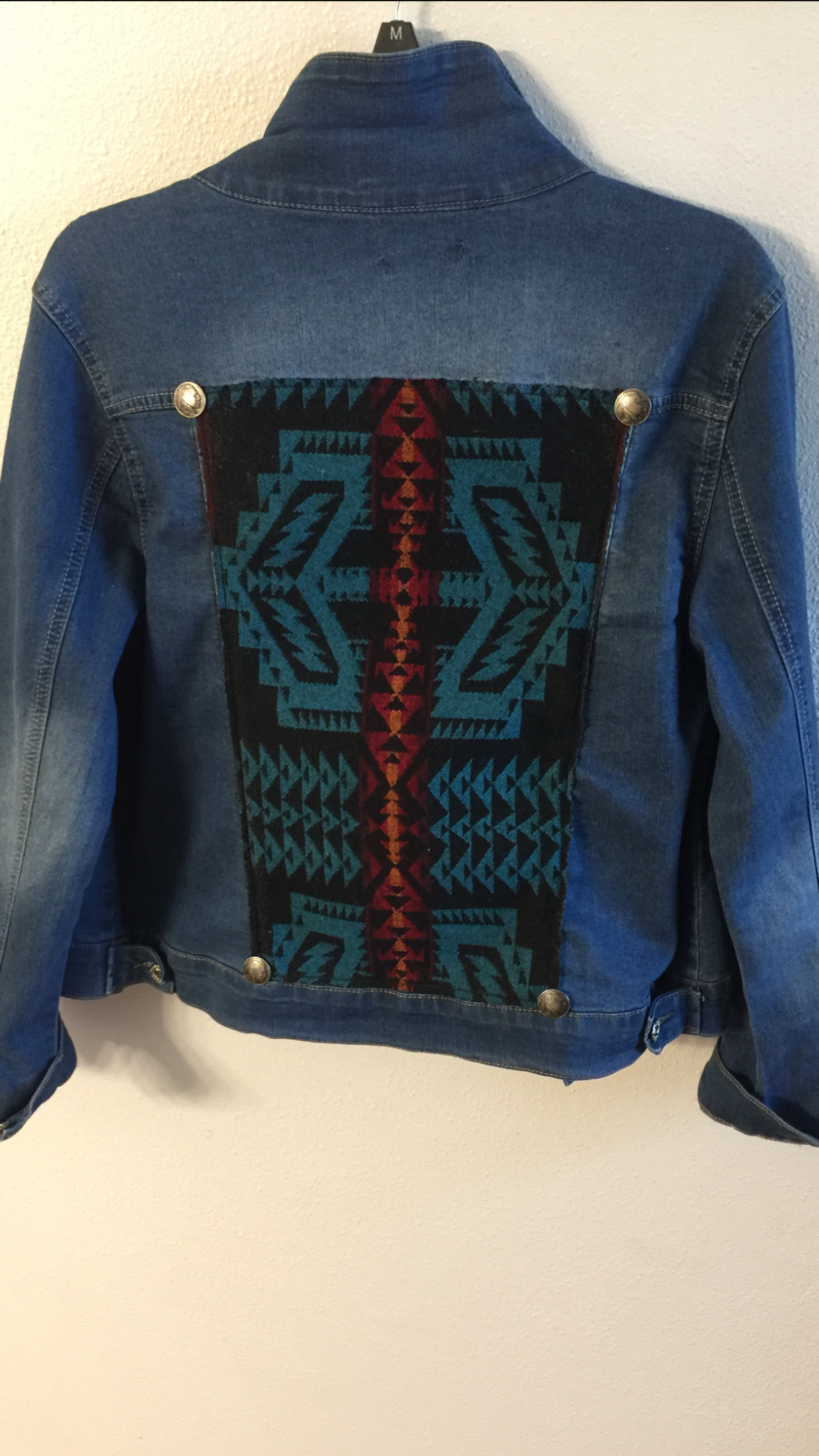 Show Off Your Style Jean Jacket Jackets Pendleton Fabric [ 2208 x 1242 Pixel ]