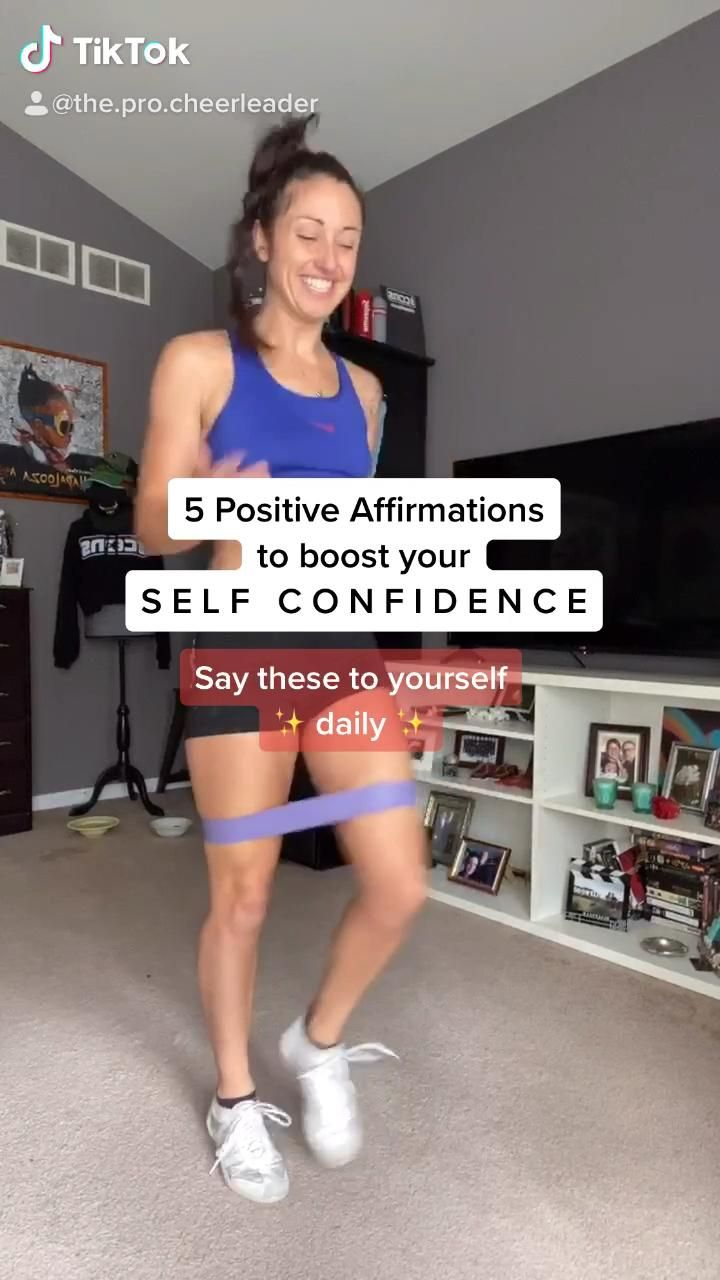 Say these daily affirmations to boost your self confidence!