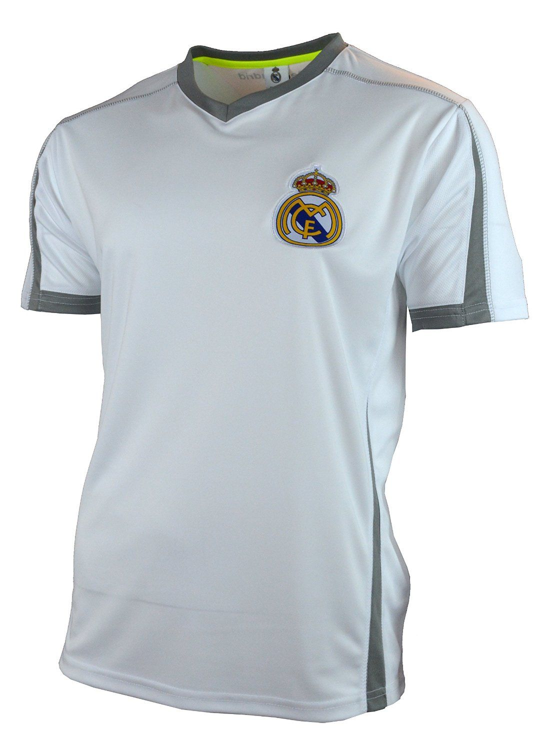Amazon.com   Real Madrid Soccer Jersey Adult Training Performance Polyester… d32f842a9