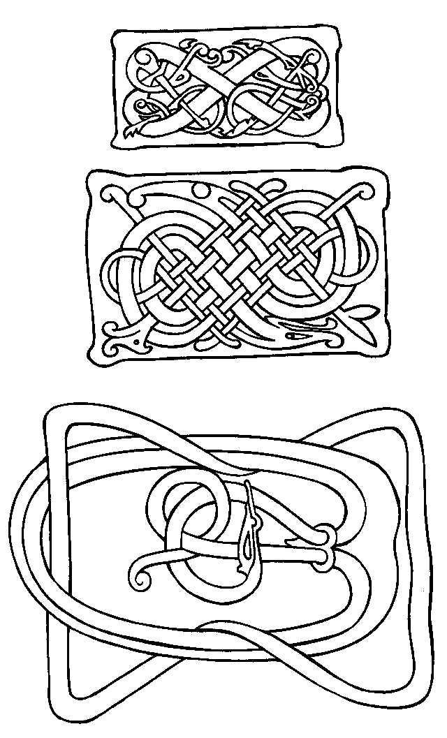 free celtic symbols coloring pages | Free Printable Irish and Celtic Symbols Collection ...