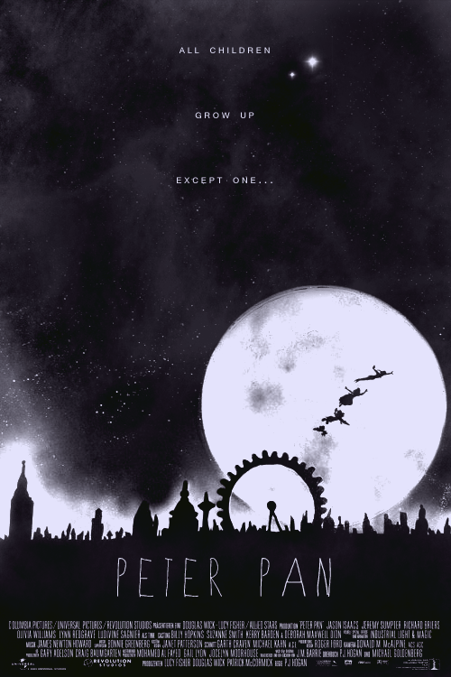 Peter Pan Poster Remake. I will die if this is real. Cannot waitttt