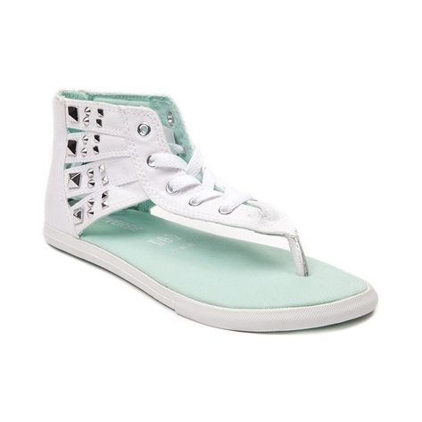 converse gladiator sandals white