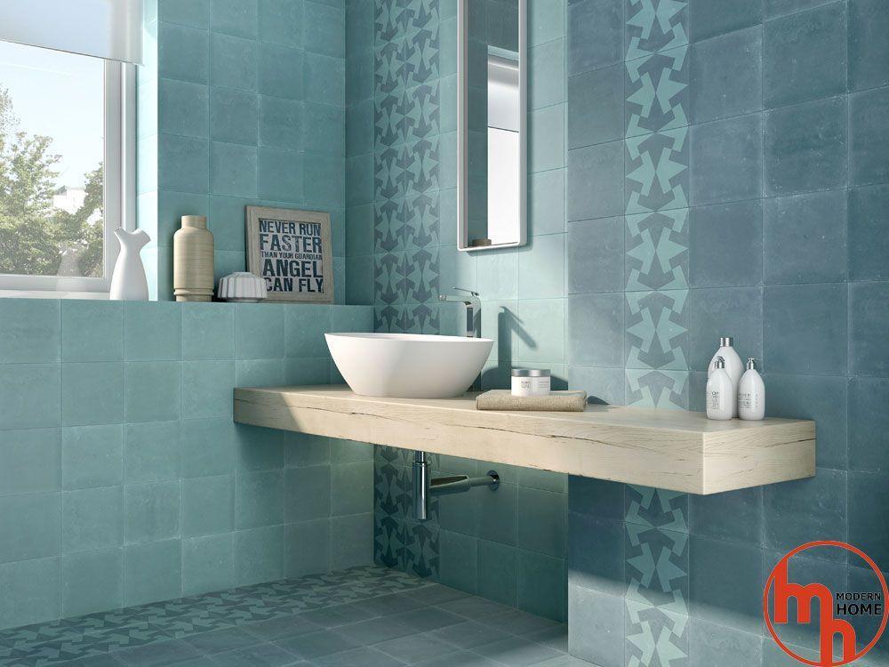 Badezimmer, Spanisch Fliese, Garten Ideen, Ins Blaue, Lebendige Farben,  Fliegen, Leicht, Innere, Stil