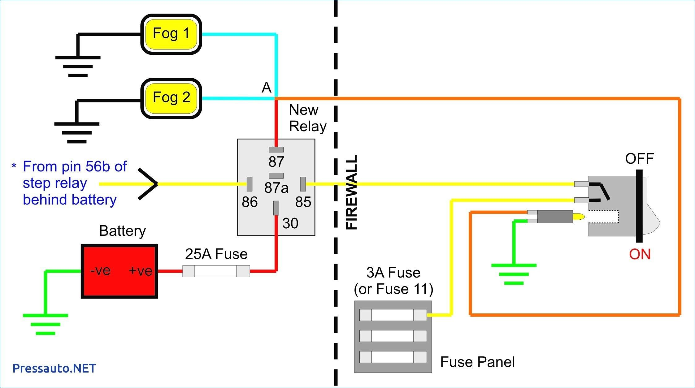 Best Of Wiring Diagram for Fog Lights without Relay # ...