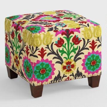 Desert Santa Maria McKenzie Upholstered Ottoman   Stools   Pinterest ...