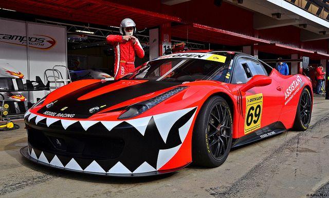 Ferrari 458 Challenge / Kessel Racing