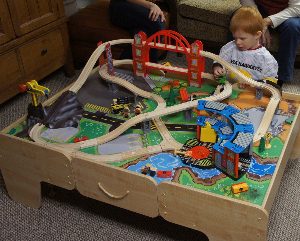 Train Table And Thomas Trains  Great For Toddlers!
