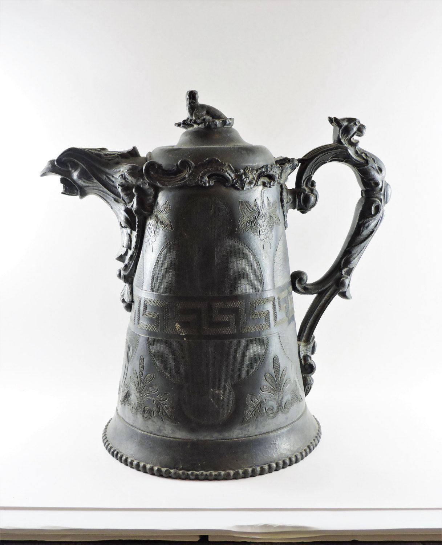 Silverware Wedding Gifts: E. Kaufmann Philadelphia Silver Plated Water Pitcher