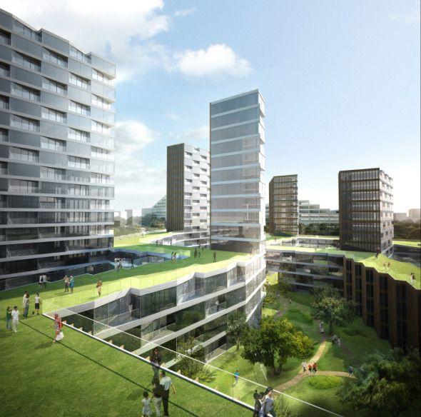 Patio Ingles En Edificios Publicos Buscar Con Google Residential Architecture Residential Architecture Plan Modern Residential Architecture