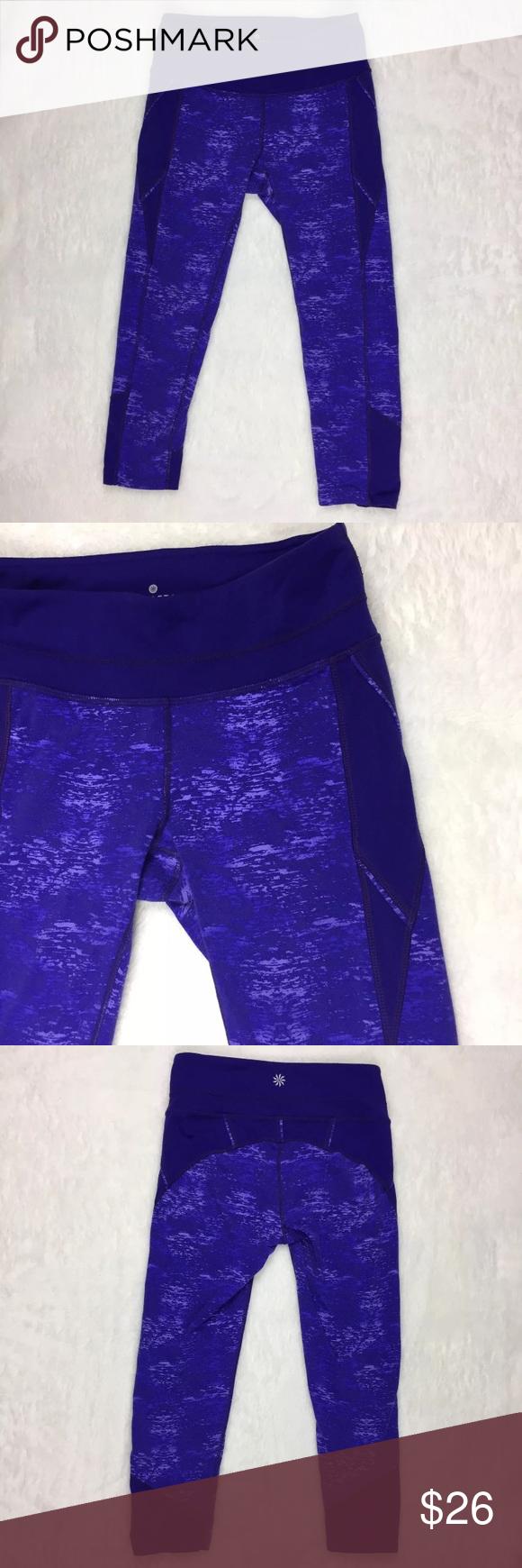 3119bcd7ec XS Athleta Purple Crush Connect Capri Pants Athleta purple Crush Connect  capri pants, size XS. Measurements: Waist 12