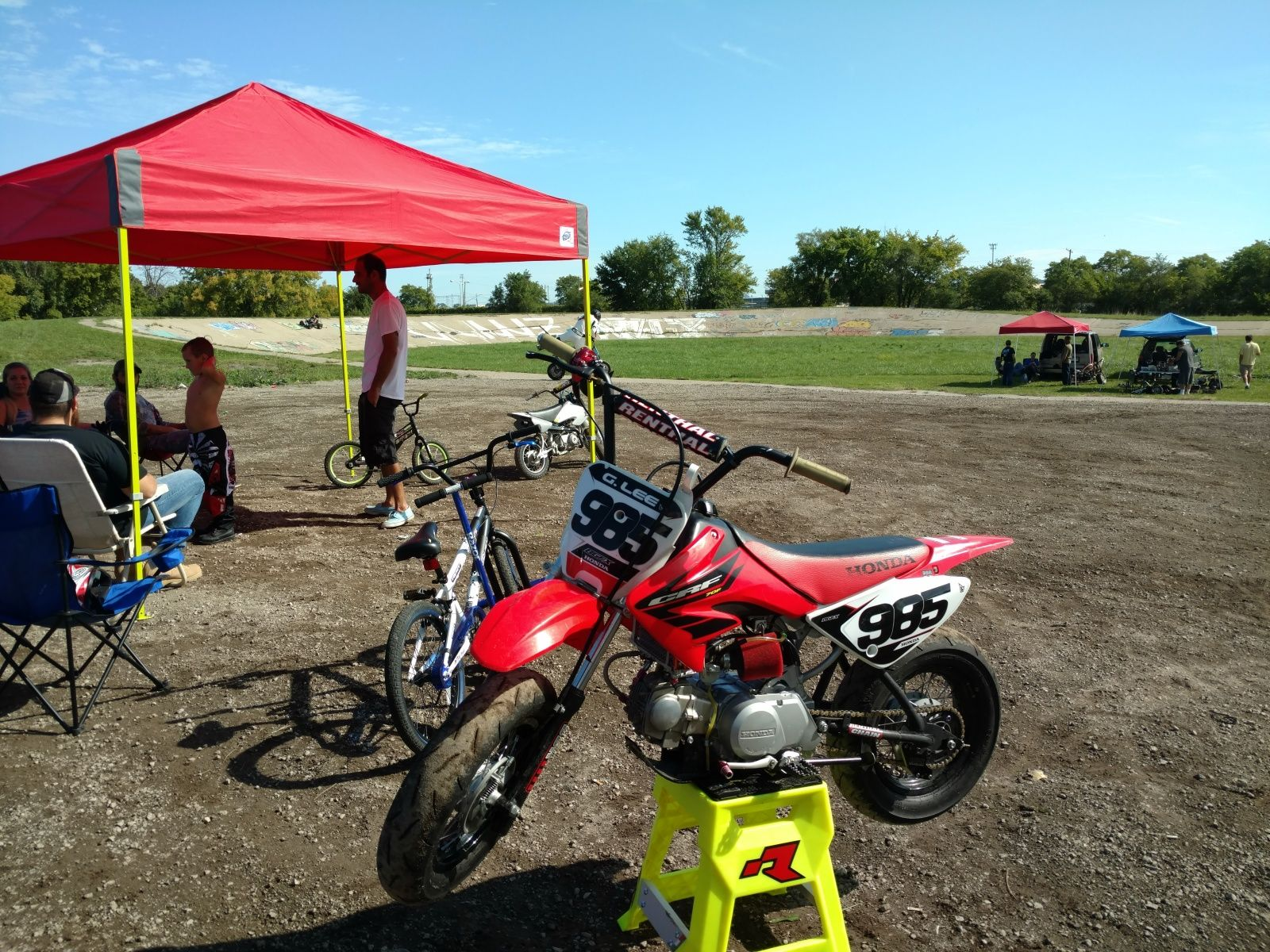 Slow racer frame vs crf70 oem. Differences? | Pit bikes and mini\'s ...