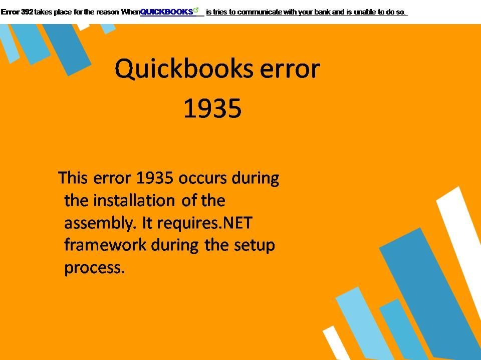 Image result for Quickbooks error 1935