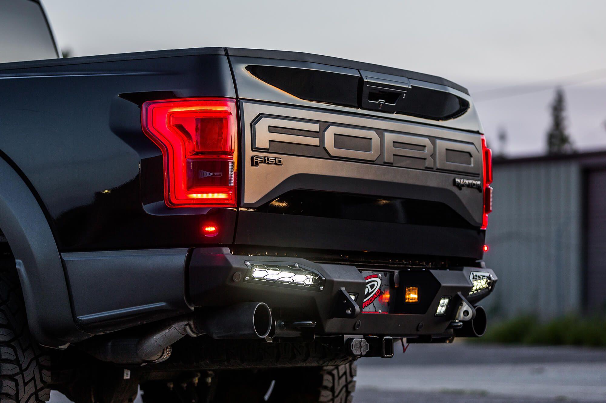 hight resolution of 2017 ford raptor rear bumper
