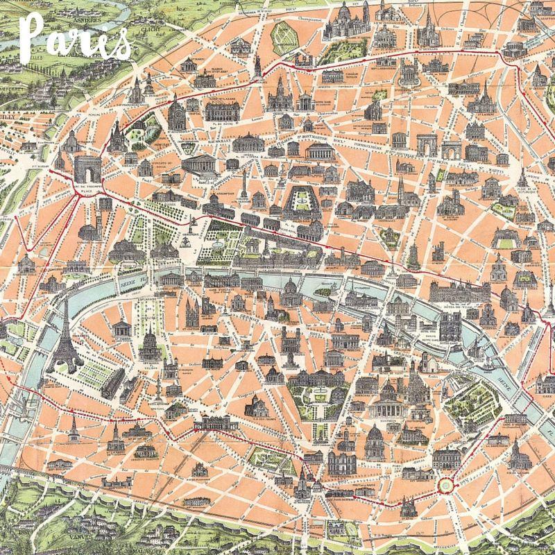 paris is always a good idea wander romantic paris with me tourist mapparis