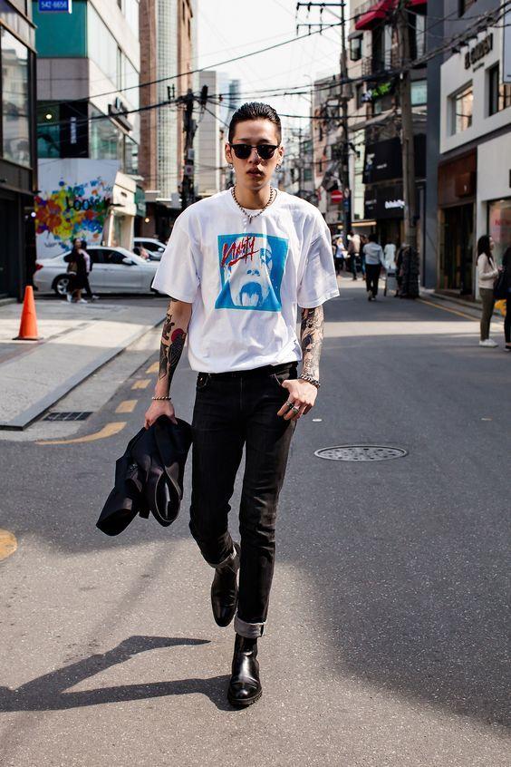 Pin von Marie Pauline auf Mode | Männer outfit, Koreanische