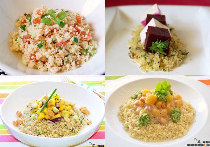 Recetas con cuscús para cenar, fáciles y rápidas