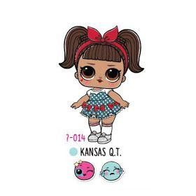 Кукла ЛОЛ Сюрприз Kansas Q.T. 4 серия Декодер Under Wraps ...