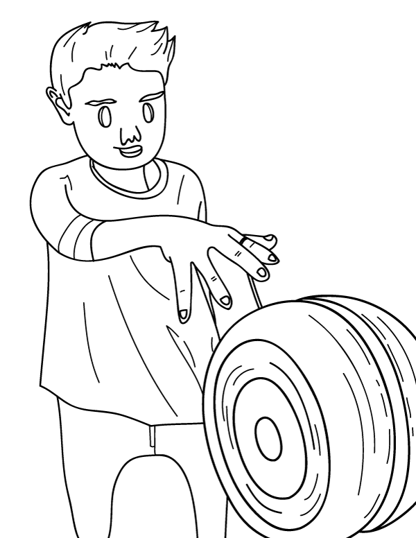Free Printable Yoyo Coloring Page Download It At Https Museprintables Com Download Col Coloring Pages Free Printable Coloring Pages Printable Coloring Pages
