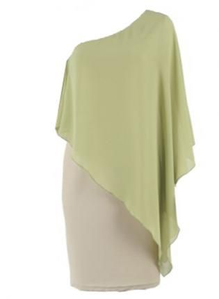 ustrendy, Bqueen Asymmetrical  One Shoulder Green Dress  TD019G,  Dress, Bqueen Asymmetrical  One Shoulder Green Dress, Chic