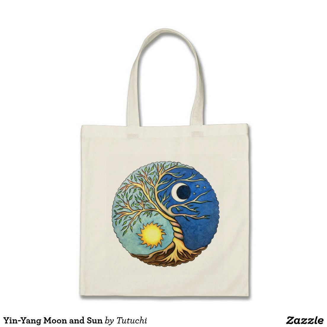 046c02047 Yin-Yang Moon and Sun Bolsa Tela Barata | Tutuchi's handicrafts ...
