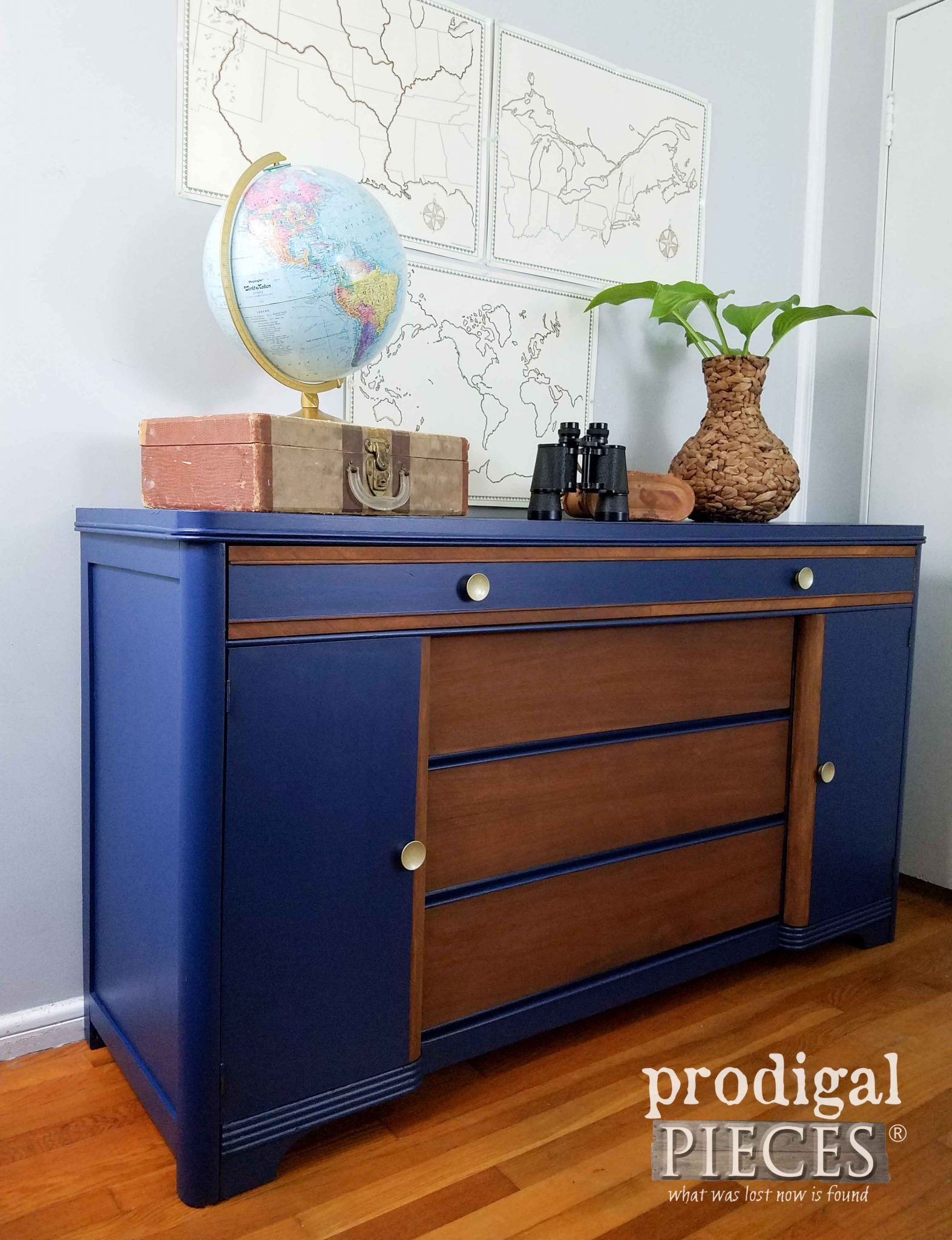 art deco buffet revived with paint stain just painting furniture rh pinterest com  what is buffet furniture