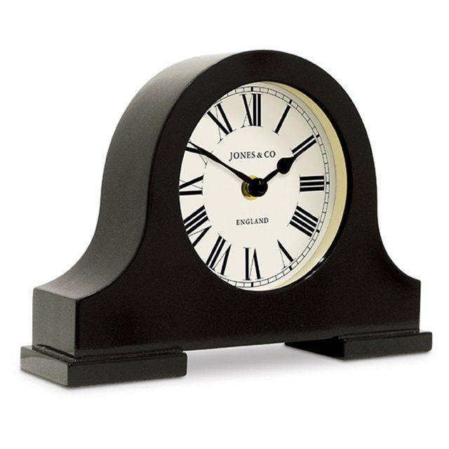 Black Kitchen Clock Argos: Jones Blackham Mantel Clock From Ocado