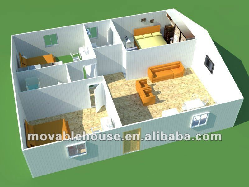 QSH prefab house layout design   pre fab   Layout design, House
