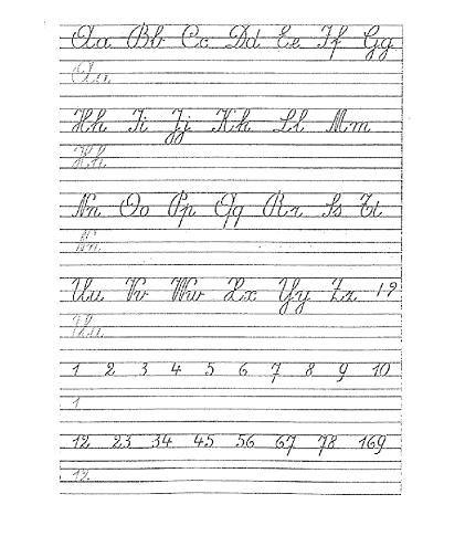 Verwonderend Schriftmethode D'Haese hoofdletters en kleine letters | Schrijven QK-12