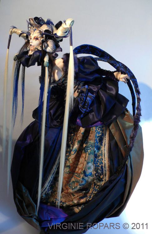 Art Doll by Virginie Ropars