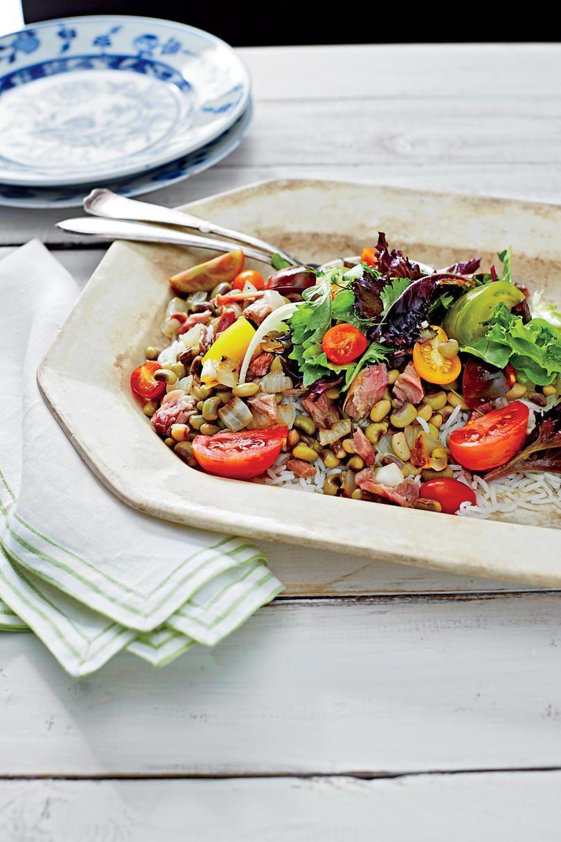 SummerFresh Field Peas Recipes Summer salads, Food