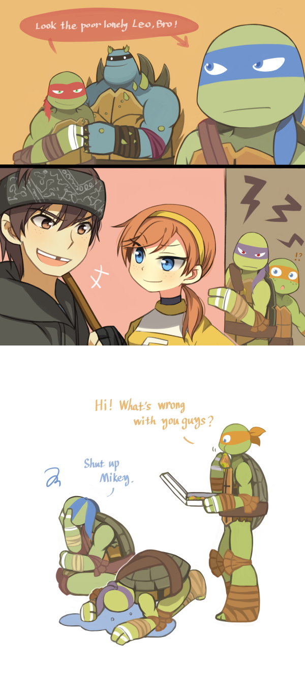 Untitled by Wusagi2 deviantart com on @deviantART | TMNT 2 | Ninja