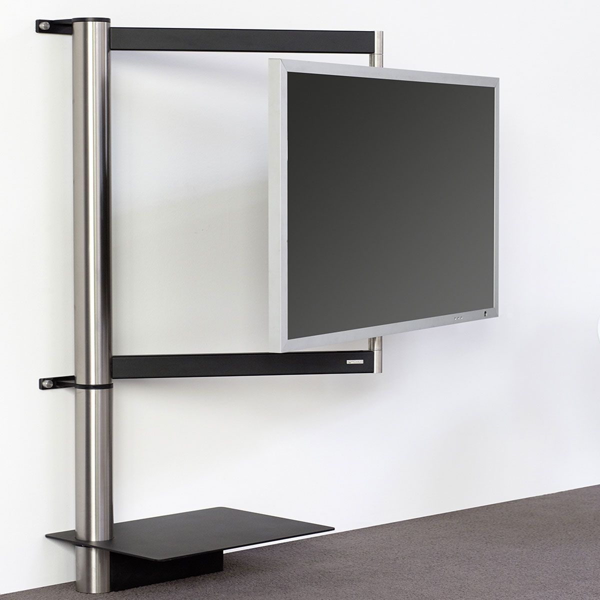 tv wandhalter fernsehhalter schwenkbar rack schwenkarm. Black Bedroom Furniture Sets. Home Design Ideas
