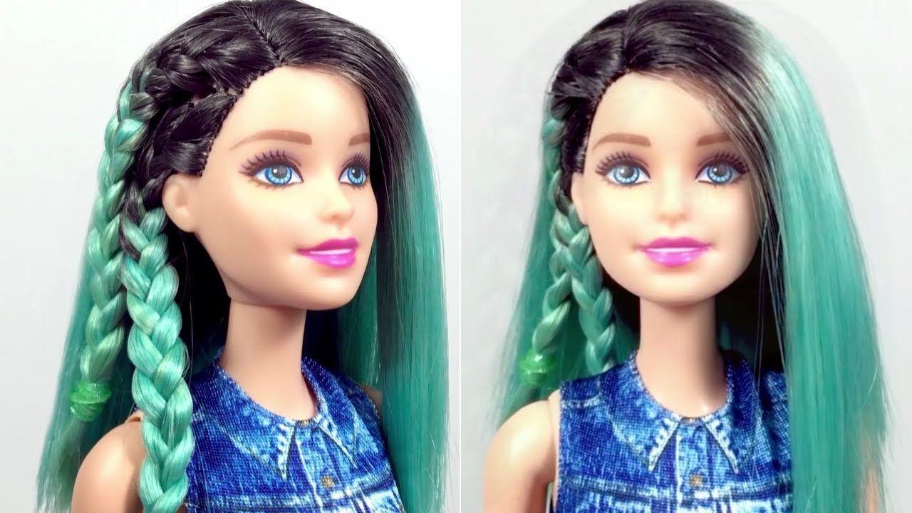Barbie Doll Hairstyles Barbie Hair Color Transformation Barbie Hairs Barbie Doll Hairstyles Barbie Hair Doll Hair