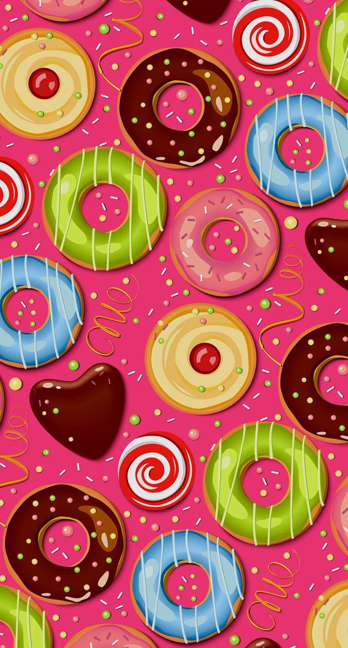 Donuts iPhone 6 iPhone 6 Pinterest Donuts, iPhone 6